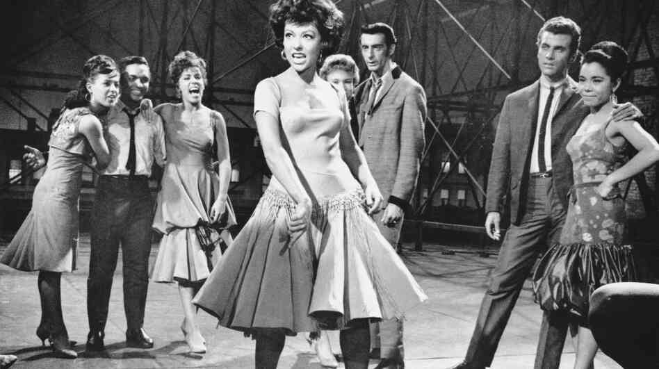 "According to actress Rita Moreno, who played Anita in the film, Jerome Robbins' challenging choreography made the filming of West Side Story a grueling experience: ""I think most dancers ... [worked"