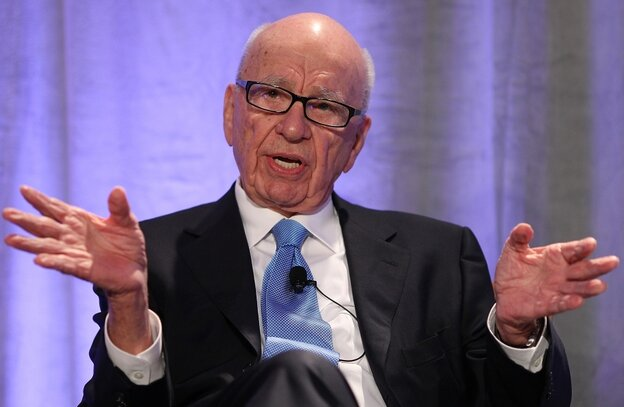 News Corp. CEO Rupert Murdoch delivers a keynote address at the National Summit on Education Reform on October 14, 2011.