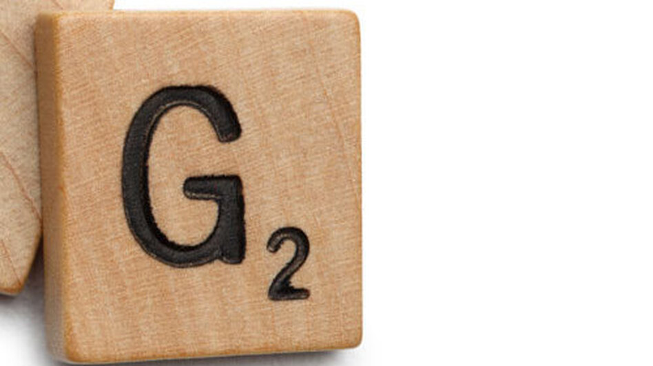"The Scrabble tile of the letter ""G."" (istockphoto.com)"