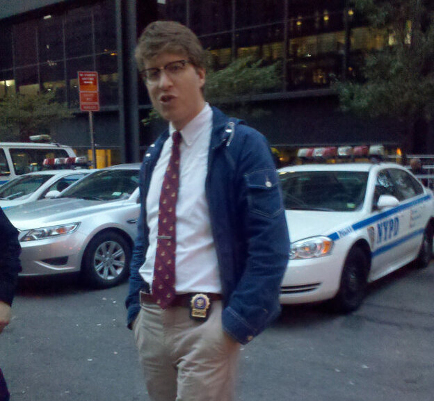 """What is likely the first photographic evidence of """"Hipster Cop."""""""