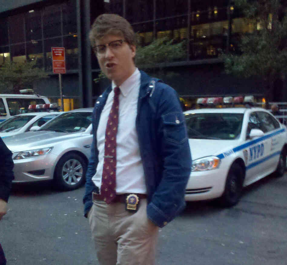 "What is likely the first photographic evidence of ""Hipster Cop."""