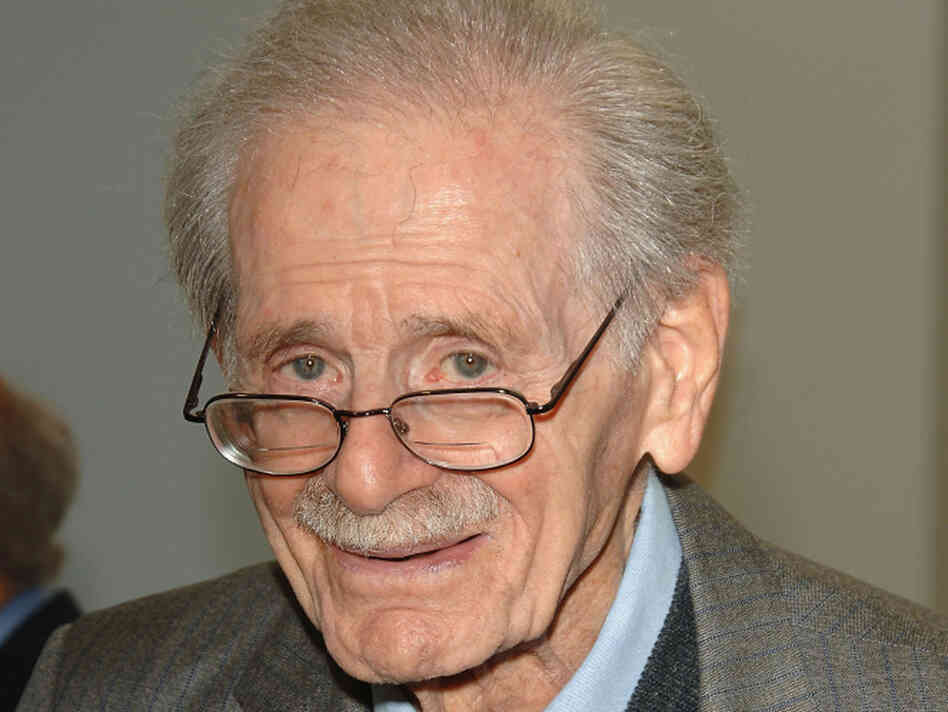 Radio producer Norman Corwin in 2006.