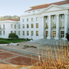 Sproul Plaza at the University of California, Berkeley. Tuition at U.C. Berkeley was about $700 a year in the 1970s. Today, families pay over $15,000 per year to attend.