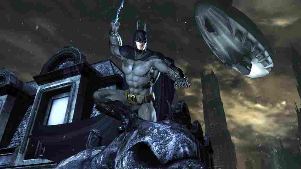A still from Batman: Arkham City.