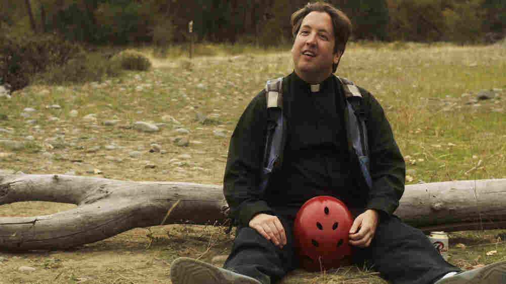 Roamin' Collar: A priest (Steve Little) loses his Bible — but finds a new perspective — an a canoe trip with a former schoolmate in Todd Rohal's The Catechism Cataclysm.