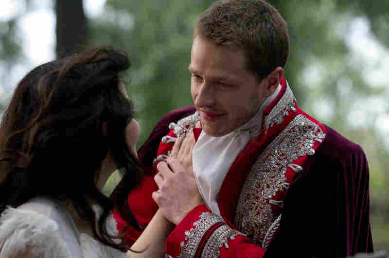 Back in fairy tale time, before they're catapulted into our world by the queen's curse, Ginnifer Goodwin and Josh Dallas are Snow White and Prince Charming.