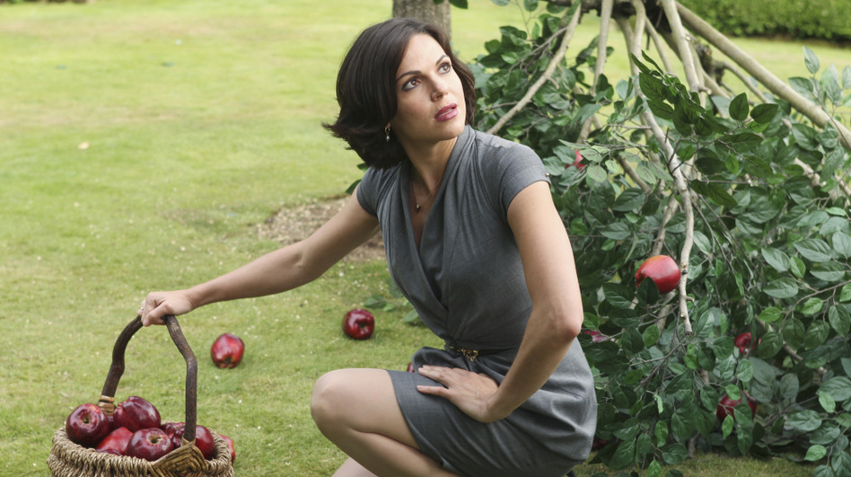 <p><strong>Seeds Of Change:</strong> <em>Once Upon A Time</em>'s Regina (Lana Parilla) has an apple (or six) with Snow White's name on it. The ABC show — which transports the population of the Enchanted Forest into modern-day Maine — is one of two new network dramas that put a new twist on old tales.</p> (Jack Rowand/ABC)