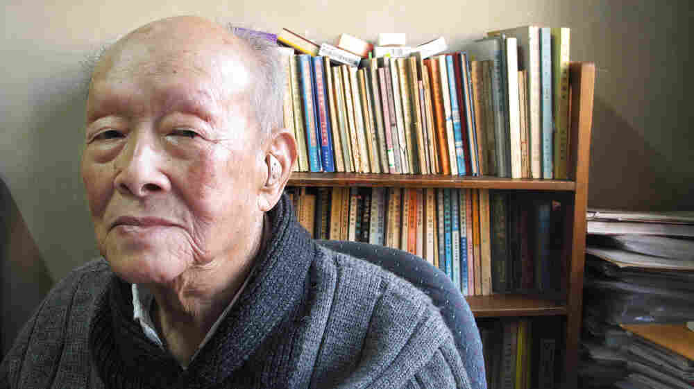 Zhou Youguang, founder of the Pinyin system of romanizing the Chinese language, has published 10 books since turning 100, some reflecting his critical views of the Chinese government. Shown here in his book-lined study, the outspoken Zhou has witnessed a century of change in China.