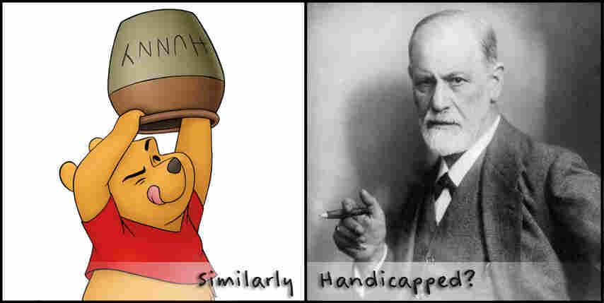 Sigmund Freud and Winnie the Pooh