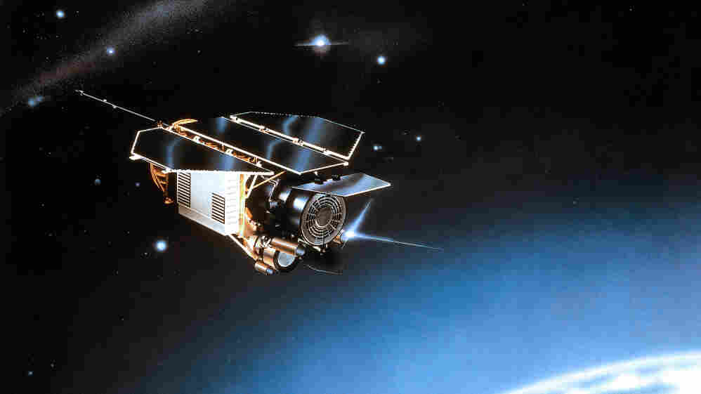 The X-ray satellite ROSAT was shutdown in 1999 and will re-enter the Earth's atmosphere this weekend.