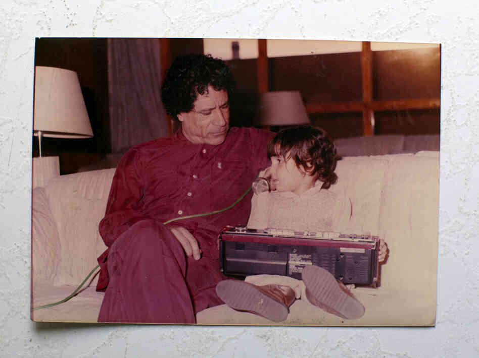 Moammar Gadhafi plays with his daughter. Foreign Policy has a Family Scrapbook, with never-before-seen pictures.