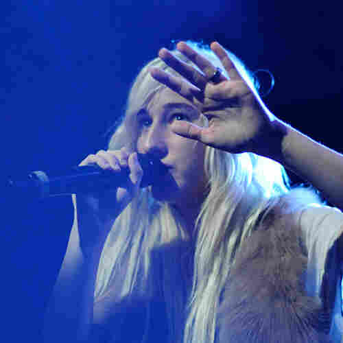Zola Jesus performing live at (Le) Poisson Rouge in New York City Oct. 19, 2011.