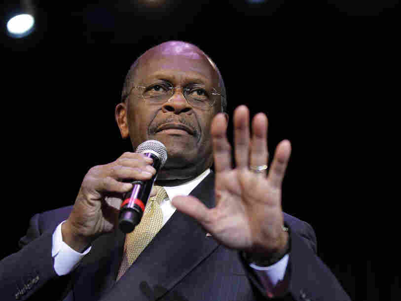 Republican presidential candidate Herman Cain is under fire for comments he made about social issues on Wednesday night.