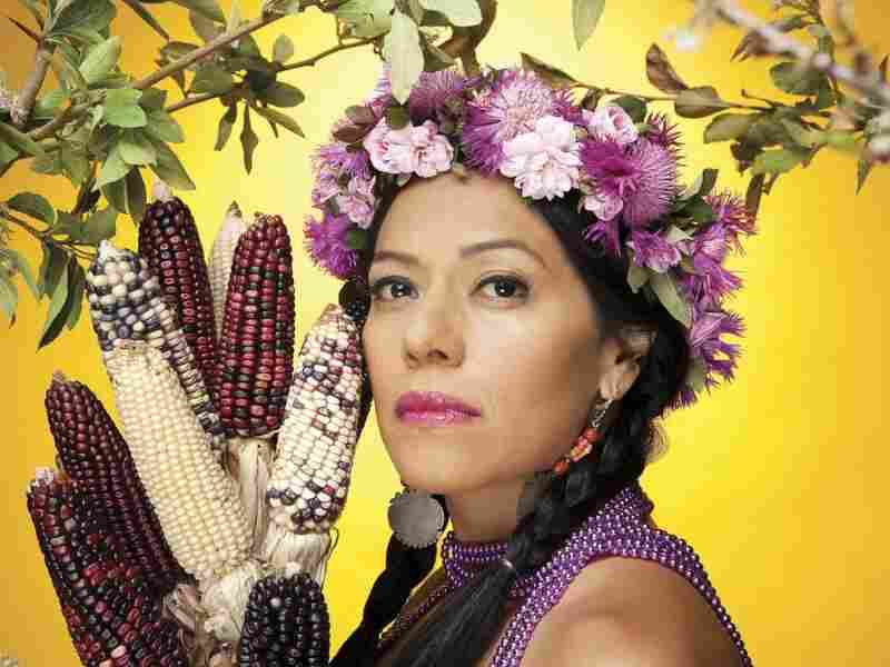 Mexican-American singer Lila Downs.