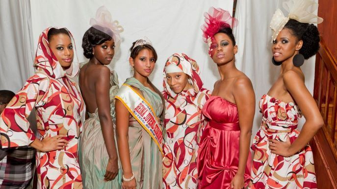 Designer Brings Muslim Fashion To The Runway Npr