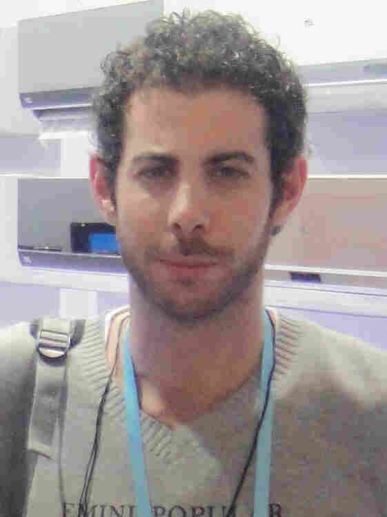 At his home in Syria, activist Rami Jarrah, 28, spoke out under the alias Alexander Page. Fearing arrest, he recently fled to Egypt.