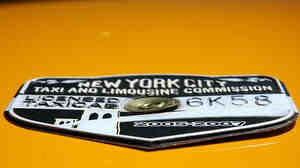 New York Taxi Medallion