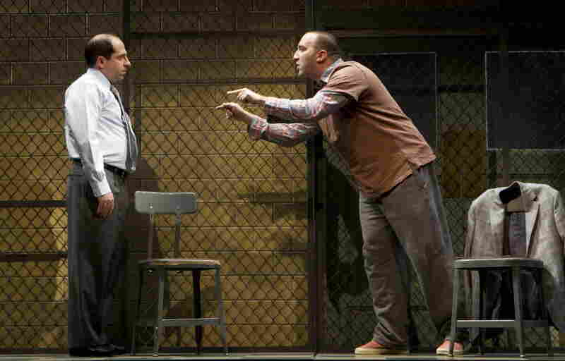 """Jason Kravitz (left) and Danny Hoch in """"The Talking Cure"""" by Ethan Coen."""