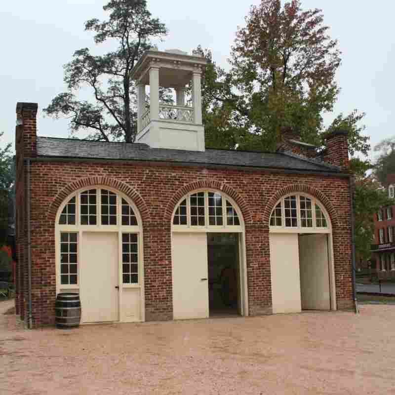 John Brown's Last Stand: After the raid, John Brown's Fort — part of the U.S. Armory and Arsenal at Harpers Ferry — became the town's only armory building to survive the Civil War.