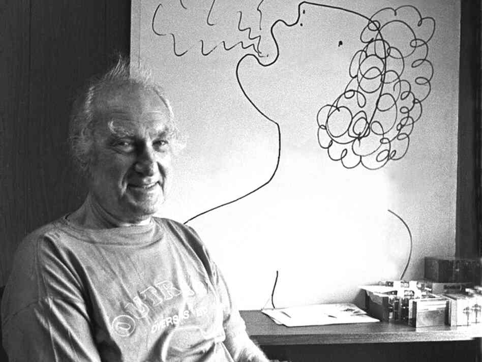 Norman Granz at his office in July 1987.