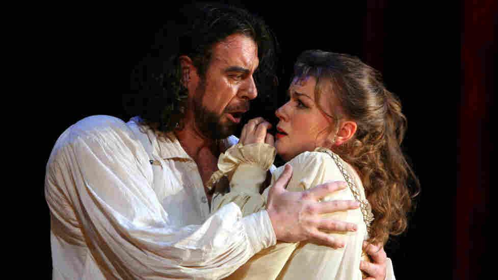 Carlos Alvarez and Lyubov Petrova in Verdi's Rigoletto at the Washington National Opera.