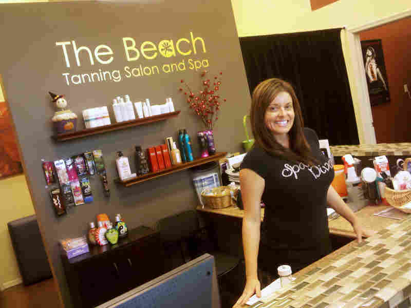 Claudine Dimitriou owns The Beach, a day spa in Phoenix. She was virtually alone in the shopping complex after investing $80,000 to open her business in December. The bet has finally paid off.