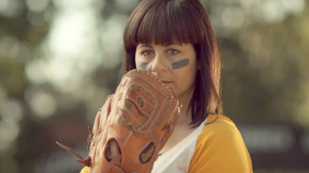 """Wild Flag drummer Janet Weiss in a new video for """"Electric Band,"""" from the group's self-titled debut album. (Courtesy of the artist)"""