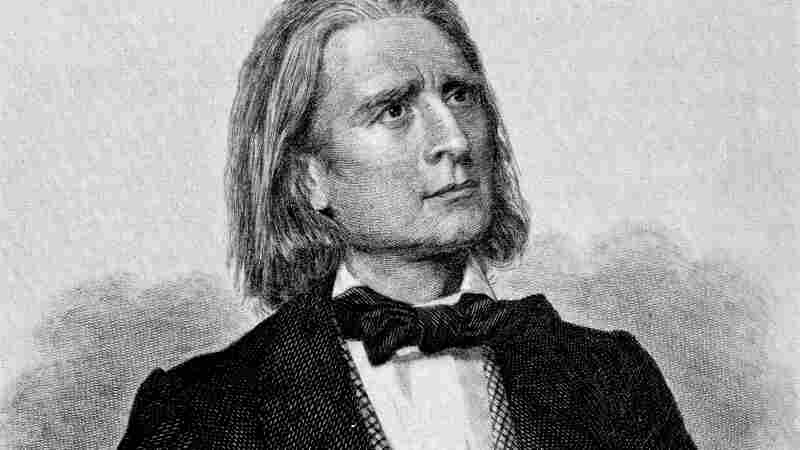 Illustration of Franz Liszt. The Hungarian composer and pianist revolutionized the art of performance.
