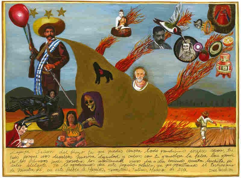 Dulce Pinzón's 'Zapata Se Queda.'