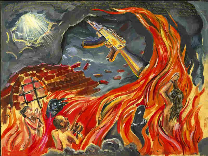 Marcos Castro's 'Reyna del inframundo.'