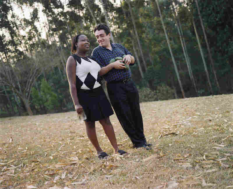 Anthony and Hildah Grinker (after picking avocados from the yard), Luxmi, KwaZulu-Natal, South Africa, 2005