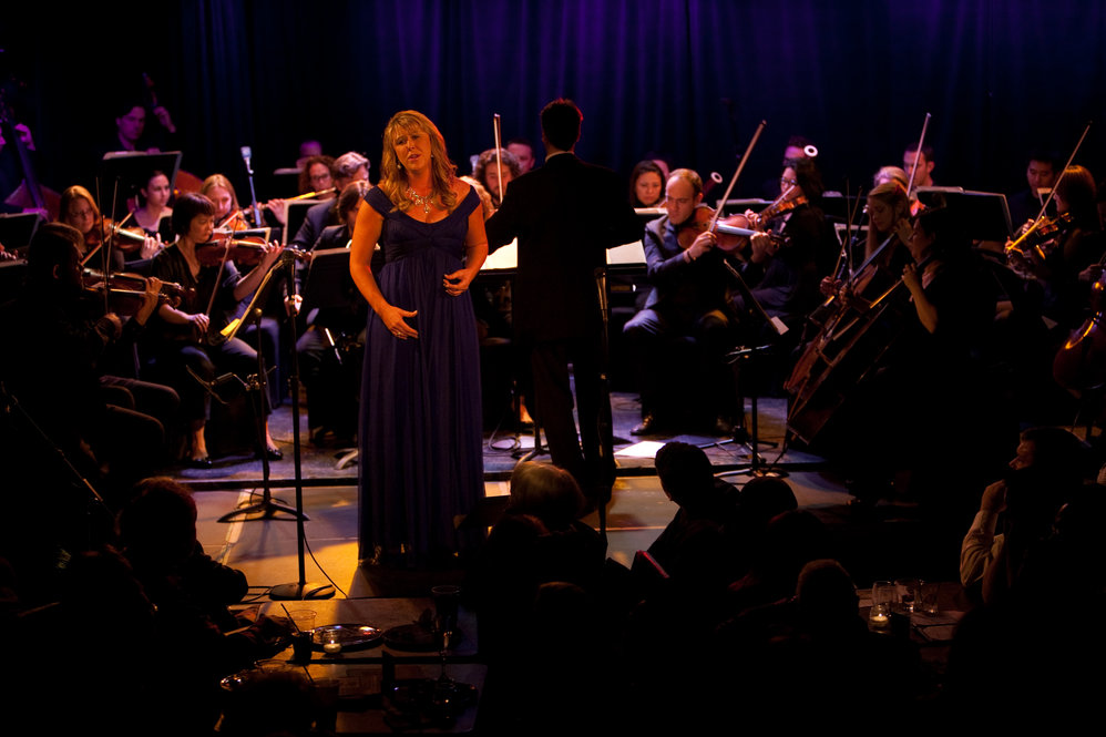 Katie Van Kooten, soprano, was one of Calleja's special guests for the evening.