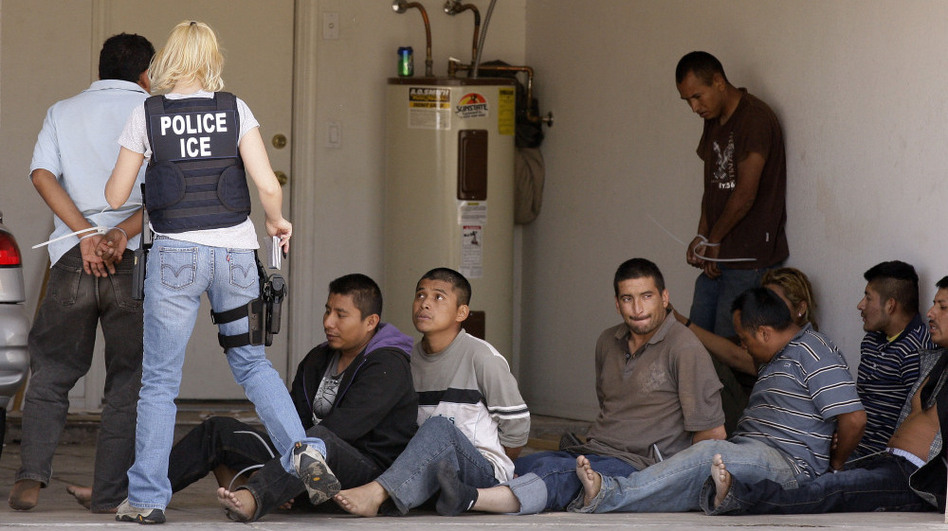 <p>A drop house raid yielded several suspected illegal immigrants on April 29, 2010, in Phoenix. Northwestern University political science professor Jacqueline Stevens says some of the nearly 400,000 people deported during the past fiscal year weren't illegal immigrants.</p>