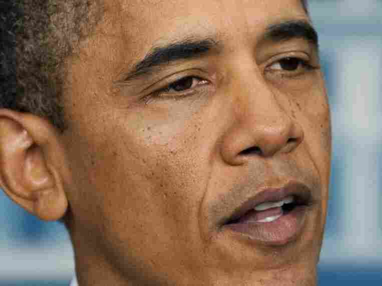 President Barack Obama announces on Oct. 21, 2011 the end to US military operations in Iraq. Obama announced Friday that he will withdraw all US forces from Iraq by the end of the year, nearly nine years after the US invasion and more than 4,400 US deaths.