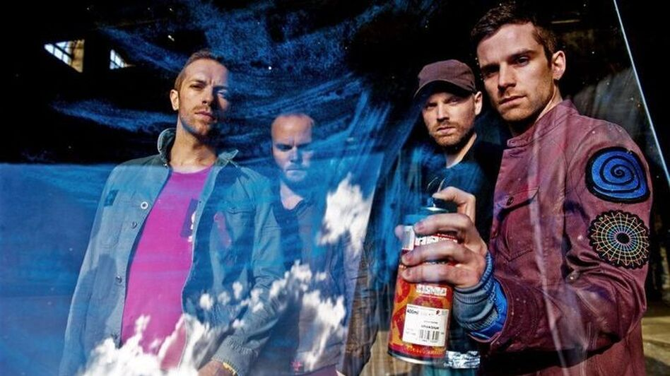 Coldplay. (Courtesy of EMI)