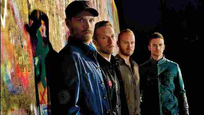Coldplay's new album, Mylo Xyloto, is out this week.
