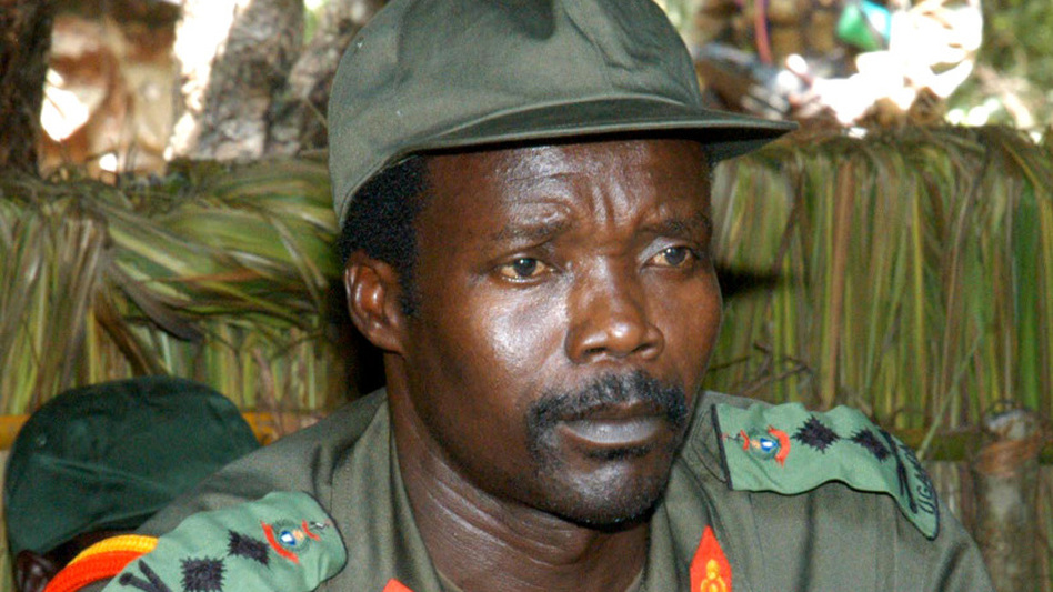 Joseph Kony, leader of the Lord's Resistance Army, in a 2006 photo. The Obama administration has sent 100 troops to advise militaries in Uganda and neighboring countries that are battling Kony's forces. (AP)