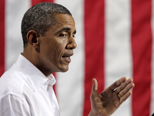 President Obama talked about jobs last week in North Chesterfield, Va.