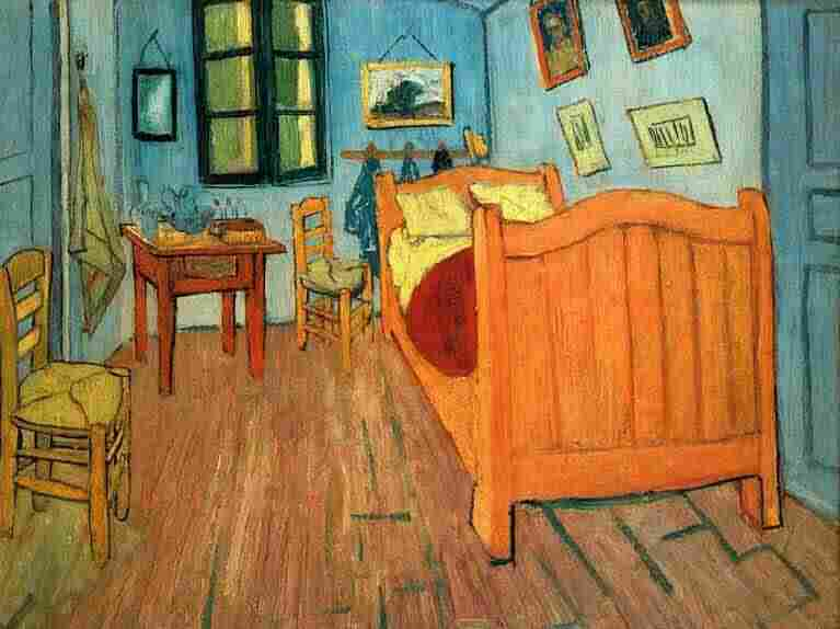"""Joe Henry's song about Vic Chesnutt, """"Room at Arles,"""" has a title reminiscent of Vincent Van Gogh's painting Bedroom in Arles."""