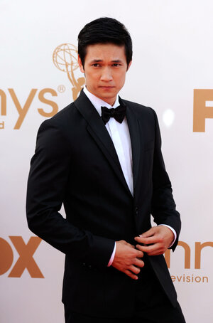 The dashing Harry Shum, Jr. at the 2011 Emmys in September. Yowza.
