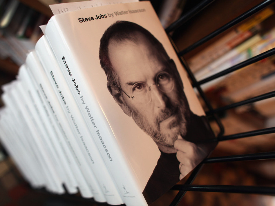 <p>Walter Isaacson's biography of Apple co-founder Steve Jobs was published Monday, less than three weeks after Job's death on Oct. 5.</p>