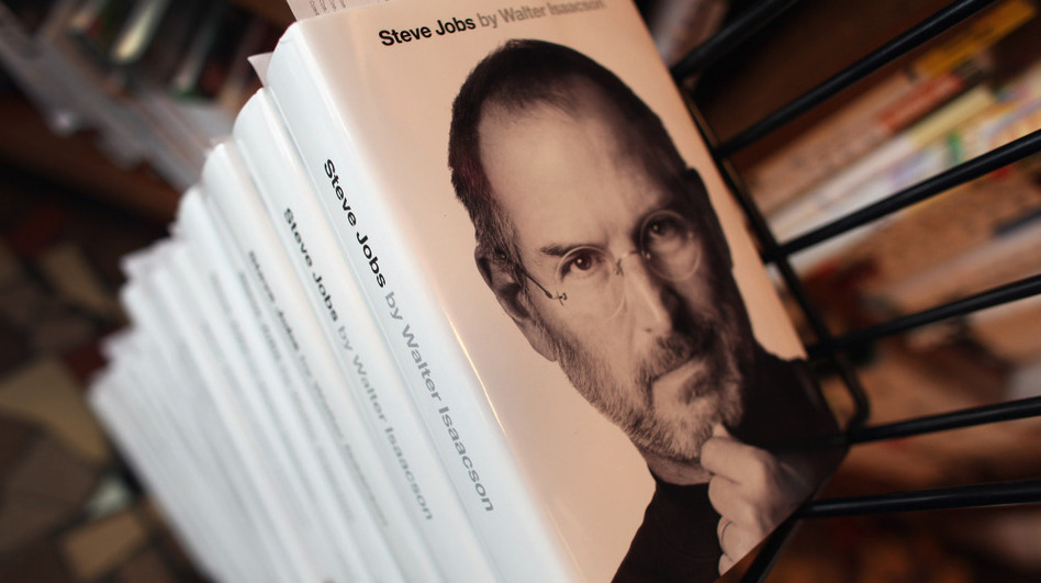 Walter Isaacson's biography of Apple co-founder Steve Jobs was published Monday, less than three weeks after Job's death on Oct. 5. (Getty Images)
