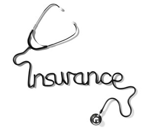 A stethoscope spells insurance.