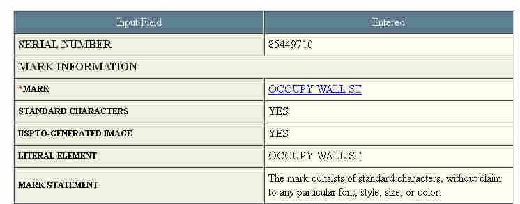 Occupy I