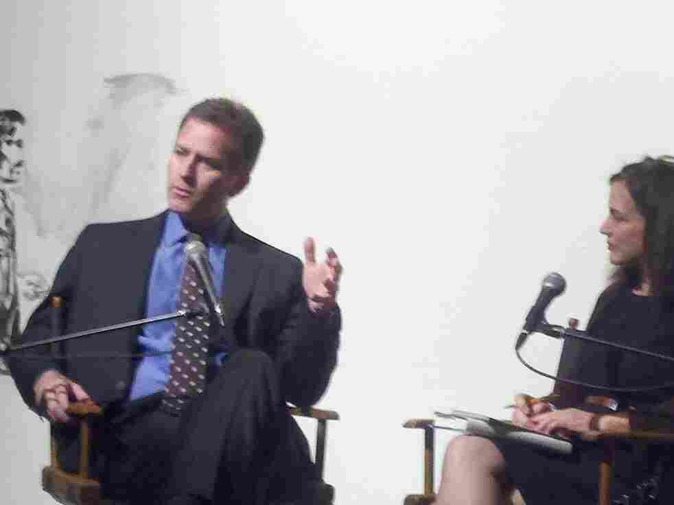 Steve Inskeep and Renee Montagne at Live Talks Los Angeles