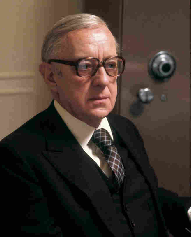 Alec Guinness starred in the 1979 BBC adaptation of John le Carre's novel Tinker, Tailor Soldier, Spy. The series has just been re-released on DVD in anticipation of the release of a new film version of the Cold War-era spy drama.