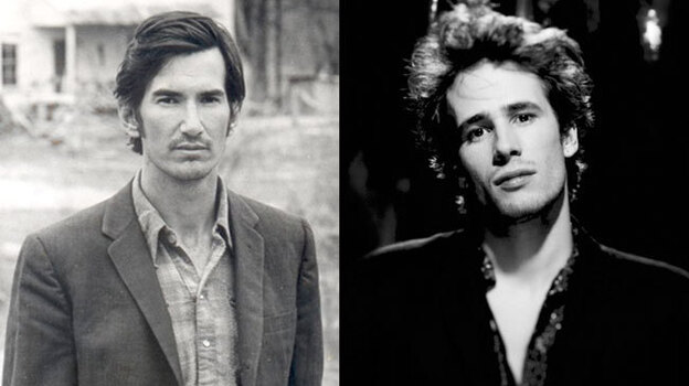 Townes van Zandt (left) and Jeff Buckley (right). (Courtesy of the artists)