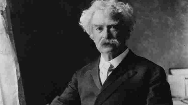 "Mark Twain's story ""A Presidential Candidate,"" in which he jokingly announces that he is running for president, kicks off Andy Borowitz's comedy collection."