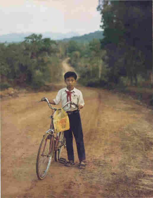 Polaroid IV, Boy with bicycle, Phu Quoc, Vietnam 2007