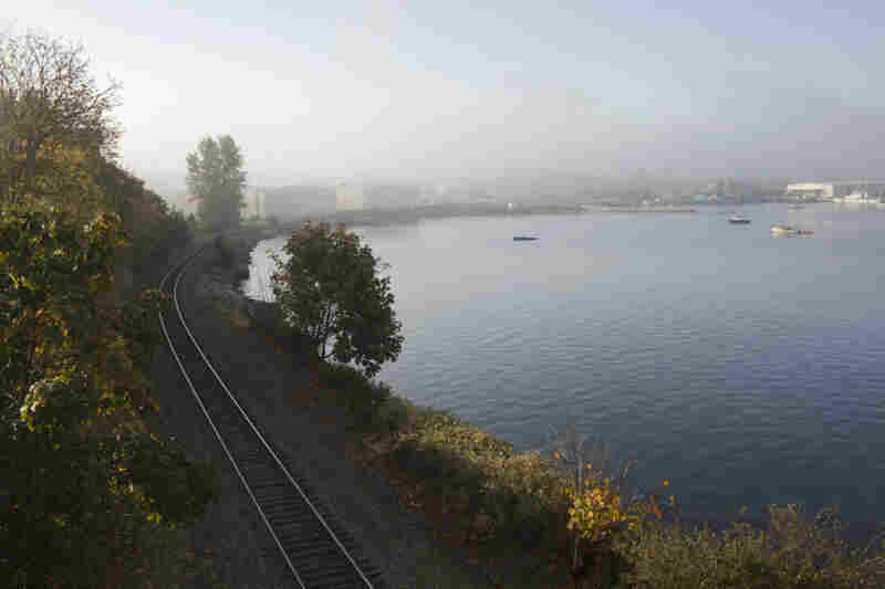 Some supporters of the proposed terminal say that even if local opponents do block the project, that wouldn't necessarily stop the coal train traffic. The rails through Bellingham continue on to the coal terminal in British Columbia.